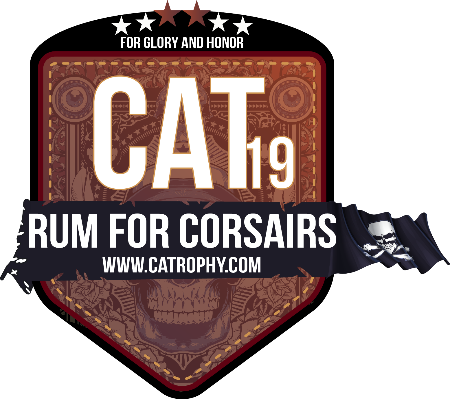 Catrophy 2010 Logo rum for corsairs